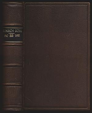 """1947 bis 1951. """"Der Zug war pünktlich"""".: Böll, Heinrich:"""