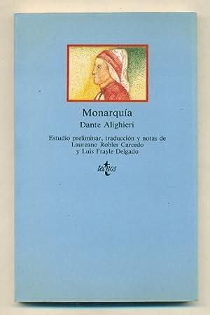 MONARQUIA (Edicion en Español): ALIGHIERI, DANTE