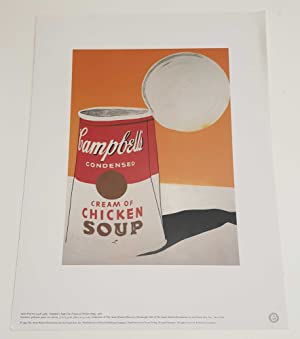 Campbell's Cream of Chicken Soup Can, 1993: Andy Warhol