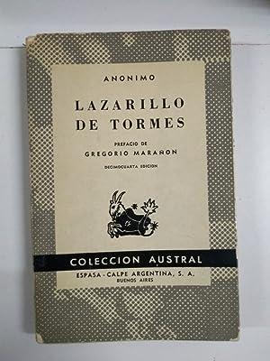 Lazarillo de Tormes: Anonimo