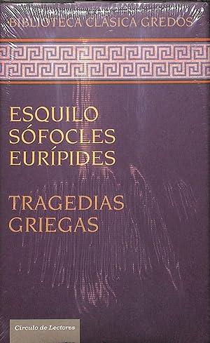 TRAGEDIAS GRIEGAS / BIBLIOTECA CLÁSICA GREDOS -: ESQUILO SÓFOCLES EURÍPIDES