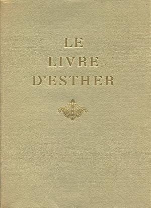 Le Livre d'Esther.: SZYK (Arthur)] :