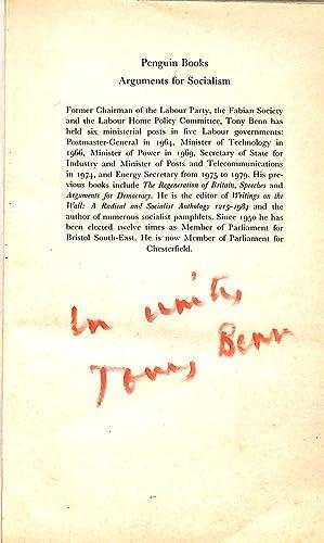 Arguments for Socialism: Tony Benn