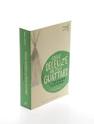 A Thousand Plateaus. Capitalism and Schizophrenia.: Deleuze, Gilles. -