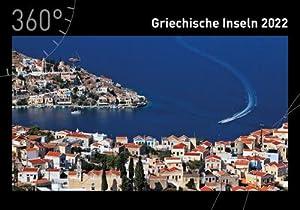 360° Griechische Inseln Premiumkalender 2022: Franz-Marc Frei