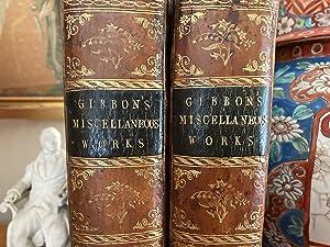 Miscellaneous Works of Edward Gibbon, Esquire. With: GIBBON Edward.