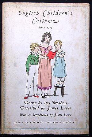 English Children's Costume since 1775: James Laver