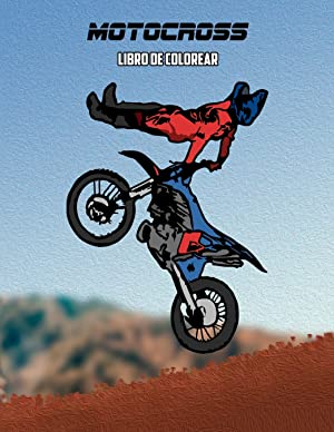 Motocross Libro de Colorear: Osam Colors