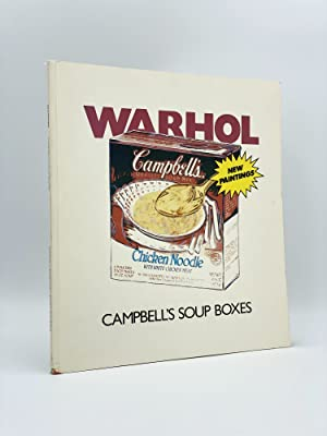Warhol: Campbell's Soup Boxes: WARHOL, Andy (artist)