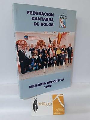 MEMORIA DEPORTIVA DE LA FEDERACIÓN CÁNTABRA DE