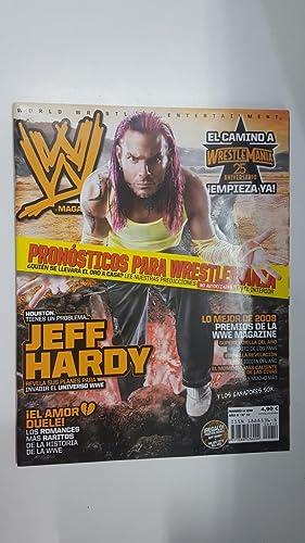 Imagen del vendedor de Revista lucha libre: WWE Magazine año II num 12, febrero 2009 . Poster doble de Jeff Hardy + mejor foto del año a la venta por El Boletin