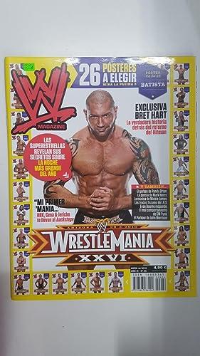 Imagen del vendedor de Revista lucha libre: WWE Magazine año III num 26, abril 2010. Algunos articulos: Exclusiva Bret Hart la historia del retorno del Hitman, entrevista a Shawn Michaels a la venta por El Boletin