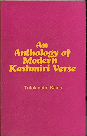 Seller image for ANTHOLOGY OF MODERN KASHMIRI VERSE (1930-1960) for sale by PERIPLUS LINE LLC