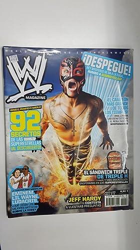 Imagen del vendedor de Revista lucha libre: WWE Magazine año II num 18, agosto 2009. Jeff Hardy contesta a vuestras preguntas, Opinion de Eminem, Lil Wayne, Ludacris sobre la WWE a la venta por El Boletin