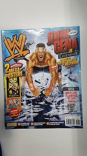 Imagen del vendedor de Revista lucha libre: WWE Magazine año III num 31, sep 2010. NO INCLUYE POSTER, PAGINAS CENTRALES SUELTAS a la venta por El Boletin