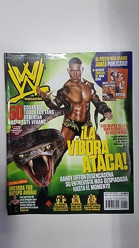 Imagen del vendedor de Revista lucha libre: WWE Magazine año III num 29, julio 2010. No incluye poster. Artículo sobre Randy Orton la Vibora entre otros a la venta por El Boletin