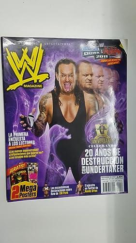 Imagen del vendedor de Revista lucha libre: WWE Magazine año III num 33, noviembre 2010 (NO INCLUYE EL POSTER). Celebrando 20 años de destruccion con Undertaker a la venta por El Boletin