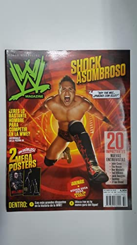 Imagen del vendedor de Revista lucha libre: WWE Magazine año III num 32, octubre 2010. No incluye poster. Entrevista a Wade Barret entre otros articulos a la venta por El Boletin