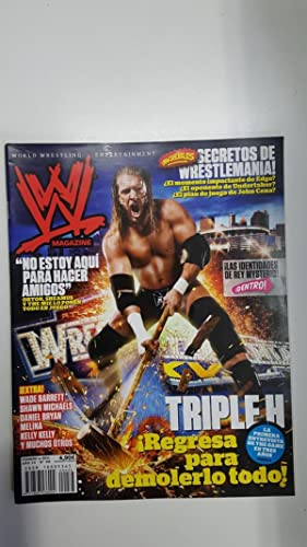 Imagen del vendedor de Revista lucha libre: WWE Magazine año IV num 36, febrero 2011 (páginas centrales están sueltas). Entrevista a John Morrison, Regreso de Triple H a la venta por El Boletin