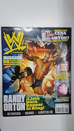 Imagen del vendedor de Revista lucha libre: WWE Magazine año III num 34, diciembre 2010. Entrevista a Randy Orton, La Serpiente a la venta por El Boletin