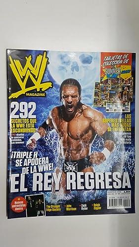 Imagen del vendedor de Revista lucha libre: WWE Magazine año III num 30, agosto 2010. Entrevistas a THe Straight Edge Society, John Morrison, Zack Ryder, etc. a la venta por El Boletin