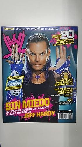 Imagen del vendedor de Revista lucha libre: WWE Magazine año II num 19, septiembre 2009. Los 20 momentos mas increibles en la historia de la WWE. Poster de Jeff Hardy a la venta por El Boletin