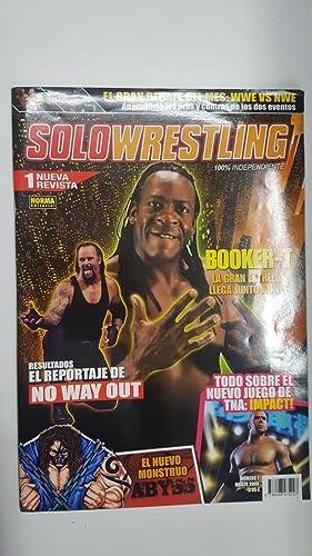 Imagen del vendedor de Revista lucha libre: Solowrestling numero 1, marzo 2008. Resultados el reportaje de No Way Out, Videojuegos: TNA Impact. Debate del mes: WWE vs NWE a la venta por El Boletin