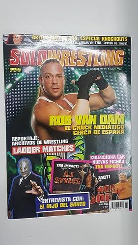 Imagen del vendedor de Revista lucha libre: Solowrestling numero 2, abril 2008. Colecciona las fichas TNA Impact, Maquinas recreativas: inicios de los juegos de wrestling en consolas a la venta por El Boletin