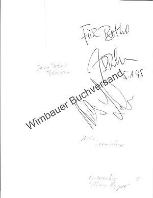 Bild des Verkäufers für Original Autogramm Jan-Peter Petersen & Nils Loenicker Alma Hoppe /// Autograph signiert signed signee zum Verkauf von Wimbauer Buchversand