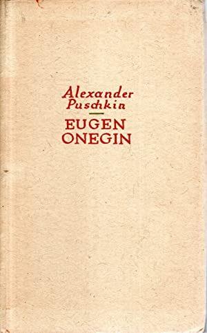 Eugen Onegin: Roman in Versen: Alexander Puschkin