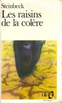 Image du vendeur pour Les raisins de la colère - John Steinbeck mis en vente par Book Hémisphères