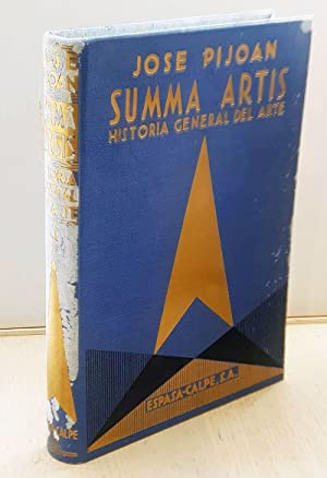 SUMMA ARTIS. Tomo VI. El arte prehistórico: PIJOÁN, José