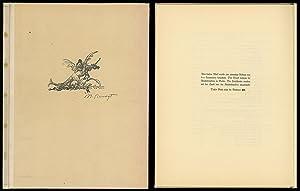 Zeichnungen zu Kinderliedern, Tierfabeln und Märchen. [Signiertes: Slevogt, Max:
