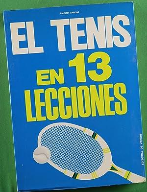 Imagen del vendedor de El tenis en 13 lecciones a la venta por Librería Alonso Quijano