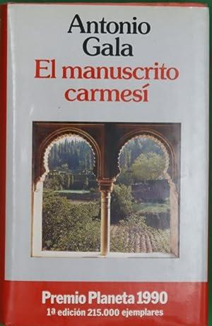 El manuscrito carmesí: Gala, Antonio