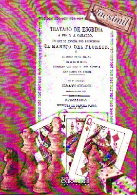 Imagen del vendedor de TRATADO DE ESGRIMA A PIE Y A CABALLO. a la venta por Librería Raimundo