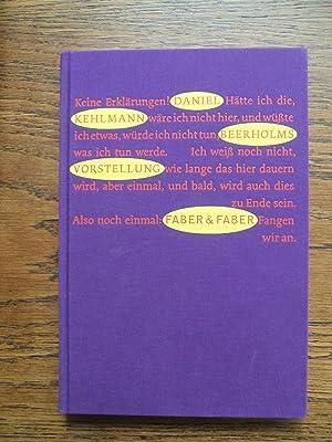 Beerholms Vorstellung. Roman: Kehlmann, Daniel
