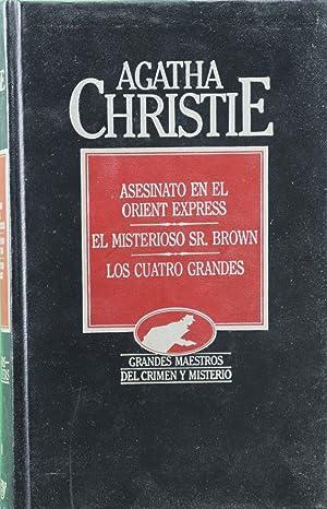 Imagen del vendedor de Asesinato en el Orient Express ; El misterioso Sr. Brown ; Los cuatro grandes a la venta por Librería Alonso Quijano