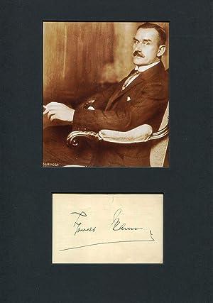 Thomas Mann Autograph   signed cards /: Mann, Thomas