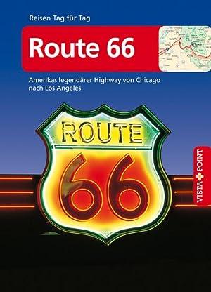 Bild des Verkäufers für Route 66 - VISTA POINT Reiseführer Reisen Tag für Tag : Amerikas legendärer Highway von Chicago nach Los Angeles - Mit Faltkarte zum Verkauf von AHA-BUCH GmbH