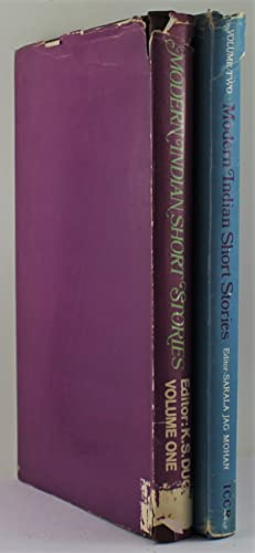 Seller image for Modern Indian Short Stories Volume One and Volume Two for sale by Gotcha By The Books