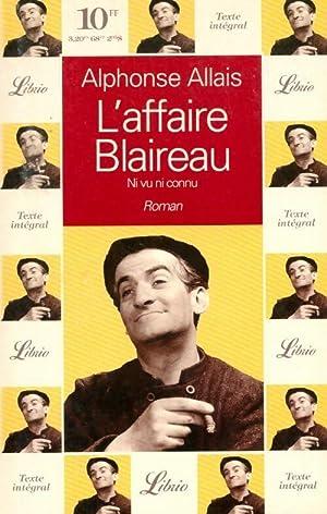 Image du vendeur pour L'affaire Blaireau - Alphonse Allais mis en vente par Book Hémisphères