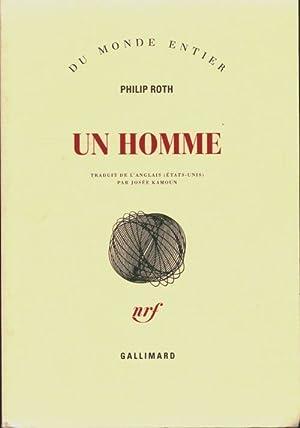 Image du vendeur pour Un homme - Philip Roth mis en vente par Book Hémisphères