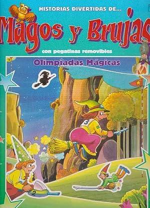 Olimpiadas Mágicas. Con pegatinas removibles. Edad: 4+.: Busquets, Jordi