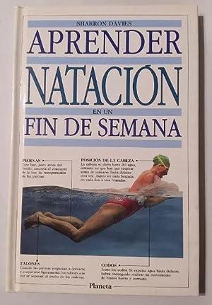 Imagen del vendedor de Aprender natación en un fin de semana. - EDITORIAL PLANETA. a la venta por TraperíaDeKlaus