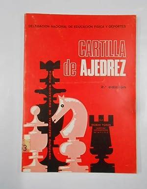 Cartilla de ajedrez. - 2ª EDICIÓN.: Román TORAN. TDK337