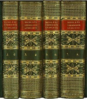 Vermischte Gedichte und prosaische Schriften. Erster (-: NICOLAY, LUDWIG HEINRICH