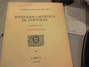 Inventário artístico de Portugal. Distrito de Santarém,: Sequeira, Gustavo de