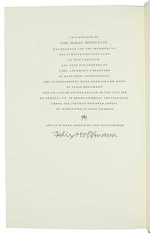 Bild des Verkäufers für The Magic Mountain. zum Verkauf von Antiquariat INLIBRIS Gilhofer Nfg. GmbH