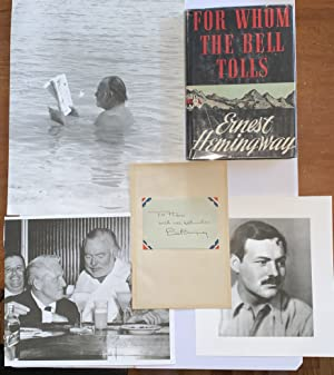 For Whom The Bell Tolls **SIGNED **: Hemingway, Ernest